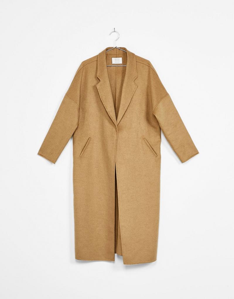 Bershka camel coat - musthave