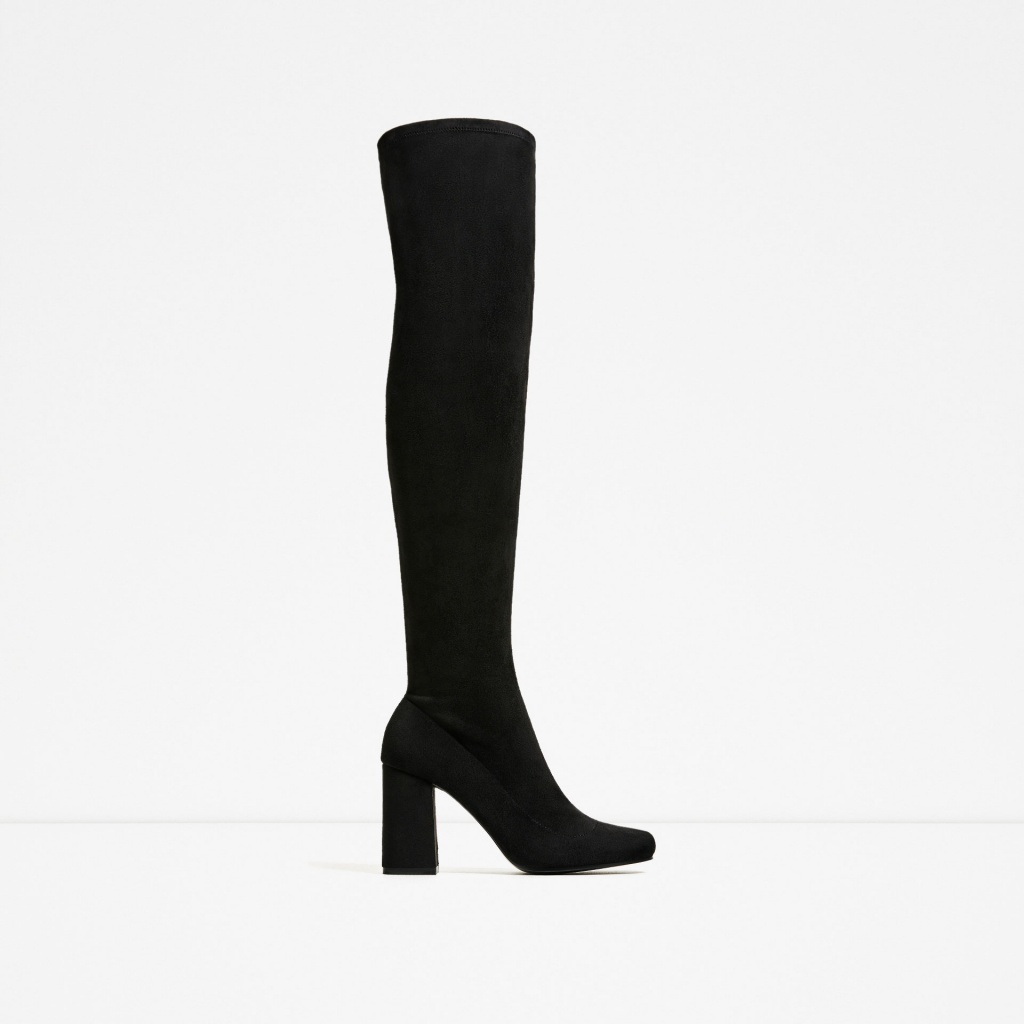Zara over the knee boots - musthave